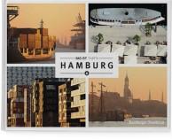 Buchgestaltung mit Karte und Icons für das Hamburger Abendblatt