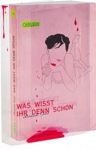Reihengestaltung für den Carlsen Verlag Broschur, Klarsichtumschlag mit Siebdruck