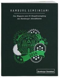 Gestaltung eines Magazins im Handtaschenformat für den Neujahrsempfang des Hamburger Abendblattes
