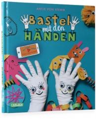 Buchgestaltung für ein Bastelbuch von Antje von Stemm im Carlsen Verlag
