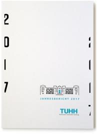 Corporate Design für die TUHH. Anwendungsbeispiel: Jahresbericht ung Faltblatt