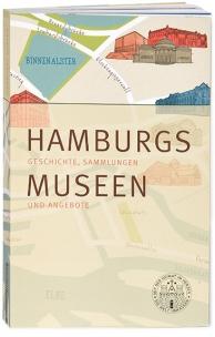 Buchgestaltung mit Karte und Illustrationen für das Hamburger Abendblatt