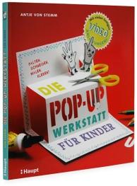 Buchgestaltung für ein Bastelbuch von Antje von Stemm im Haupt Verlag