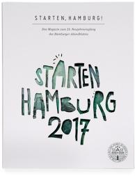 Gestaltung eines Magazins für den Neujahrsempfang des Hamburger Abendblattes unter Verwendung von Illustrationen von Felix Scheinberger