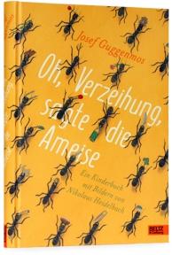 Umschlaggestaltung für den Beltz&Gelberg Verlag unter Verwendung einer Illustration von Nikolaus Heidelbach