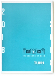 Corporate Design für die TUHH. Anwendungsbeispiel: Jahresberichte und Faltblatt